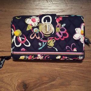 Vera Bradley turn lock wallet NWOT